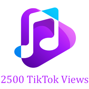 2500 TikTok Views